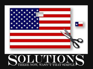 Texas secession flag