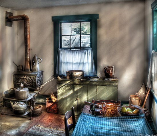 Old Fashioned Kitchen