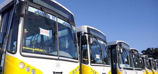 Presentacion de coches Autobuses Santa Fe