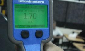 Resultado 170 en control de alcoholemia con aparato digital activo