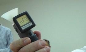 Resultado negativo en control de alcoholemia con aparato pasivo