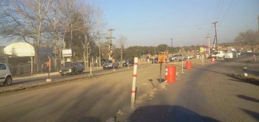 Zona de obras en ruta E55 y camino intercountries - Alejandro Pozo
