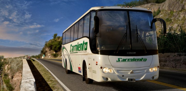 Colectivo interurbano Sarmiento