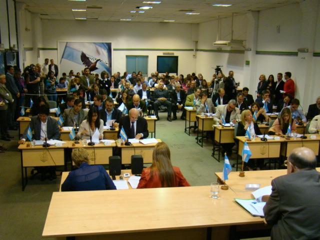 Votacion Concejo Deliberante 2016