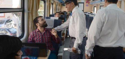 Pasajeros interior tren Buenos Aires Rosario - Diario La Capital