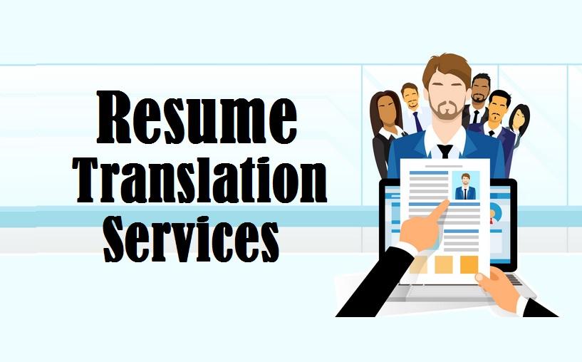 Resume Translation Singapore TranslationServicessg