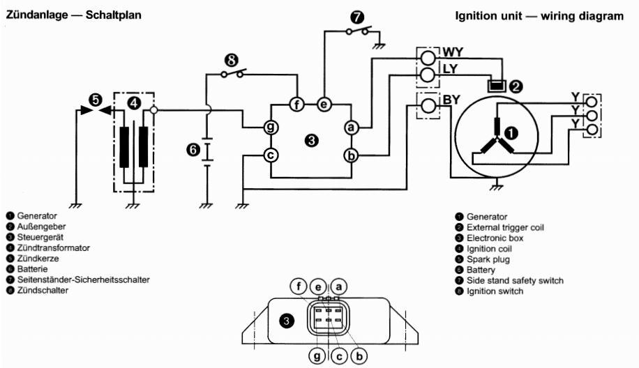 thread rotax 503 wiring to regulator question