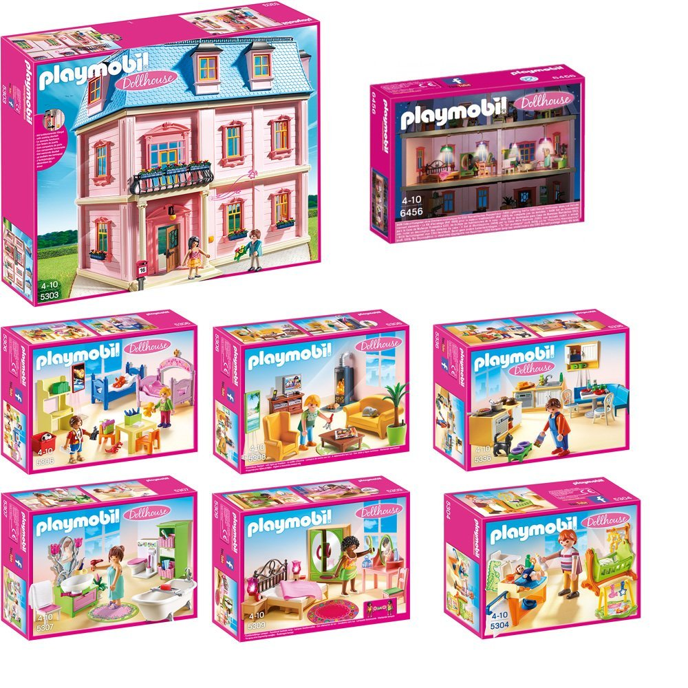 Playmobil Küche 5336 Playmobil Dollhouse : Playmobil μεγάλο σετ 5303 5304 5306