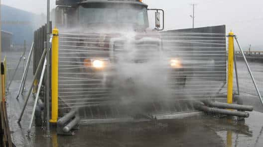 Interclean Heavy Duty Wheel Wash Systems Transport Wash