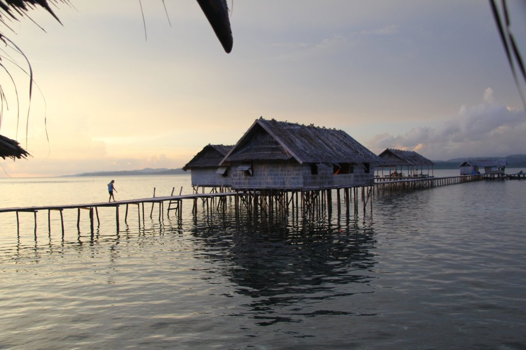 Home for a week, Kri Island, Raja Ampat, Papua, Indonesia