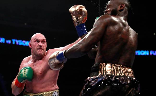 Tyson Fury And Deontay Wilder Battle Ended In A Split