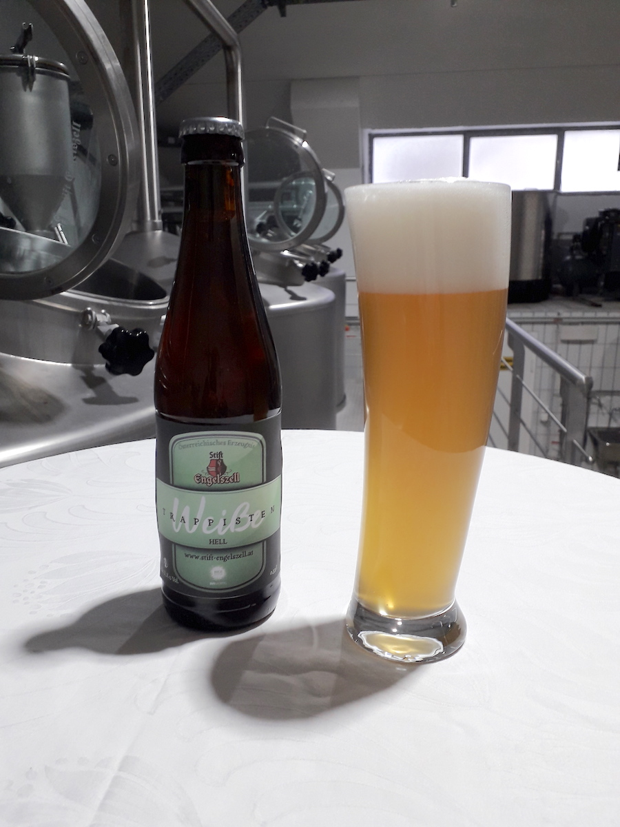Hellglas Internationale Vereniging Trappist - Engelszell Trappist Weiße Hell Gets Atp-label