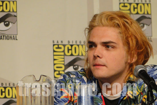 Comic Out Our Way on Gerard Way at Comic Con