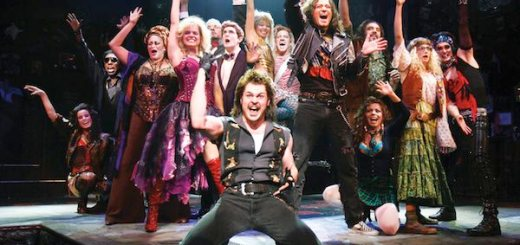 The Origonal Broadway cast of Rock of Ages © Joan Marcus
