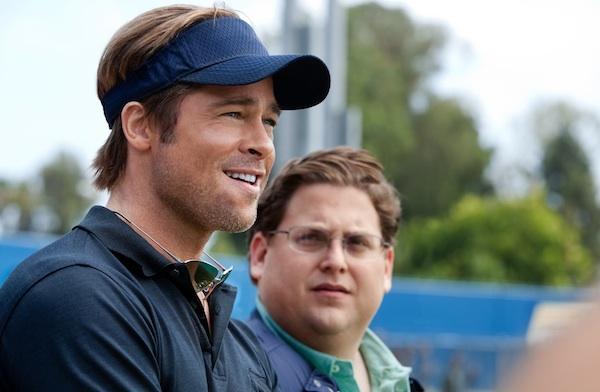Brad Pitt and Jonah Hill star in Moneyball