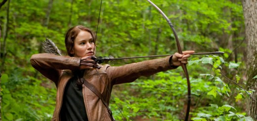 Jennifer Lawrence stars as 'Katniss Everdeen' in THE HUNGER GAMES. Photo credit: Murray Close