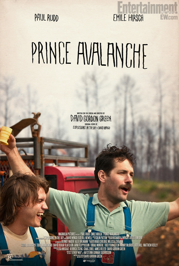 Paul Rudd and Emile Hirsch star in Prince Avalache