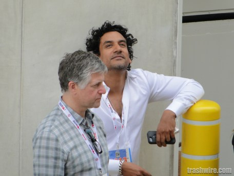 Naveen Andrews at Comic Con 2013