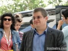 Patton Oswalt at Comic Con 2013
