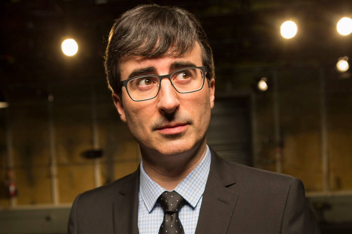 Looking forward to 'Last Week Tonight with John Oliver'