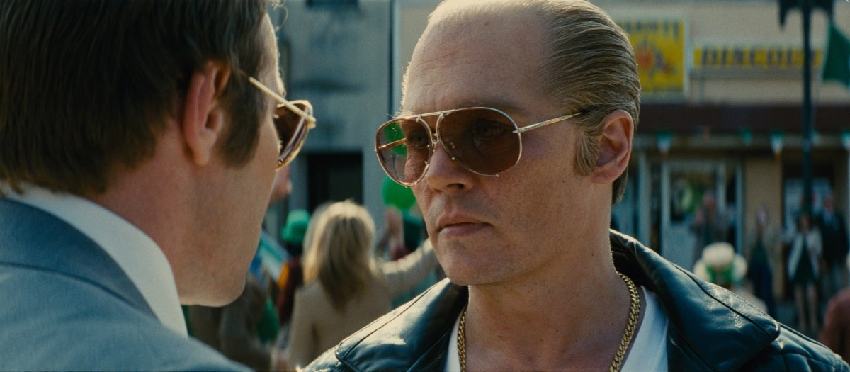 Depp dazzles as Whitey Bulger in 'Black Mass'