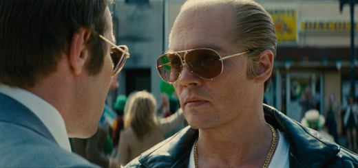 "JOEL EDGERTON as FBI Agent John Connolly and JOHNNY DEPP as Whitey Bulger in the drama ""BLACK MASS a presentation of Warner Bros. Pictures in association with Cross Creek Pictures and RatPac-Dune Entertainment, released by Warner Bros. Pictures."