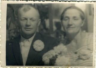 Петр Петрович Петренко (брат бабушки) с женой Екатериной Михайловной. Одесса, ~1949