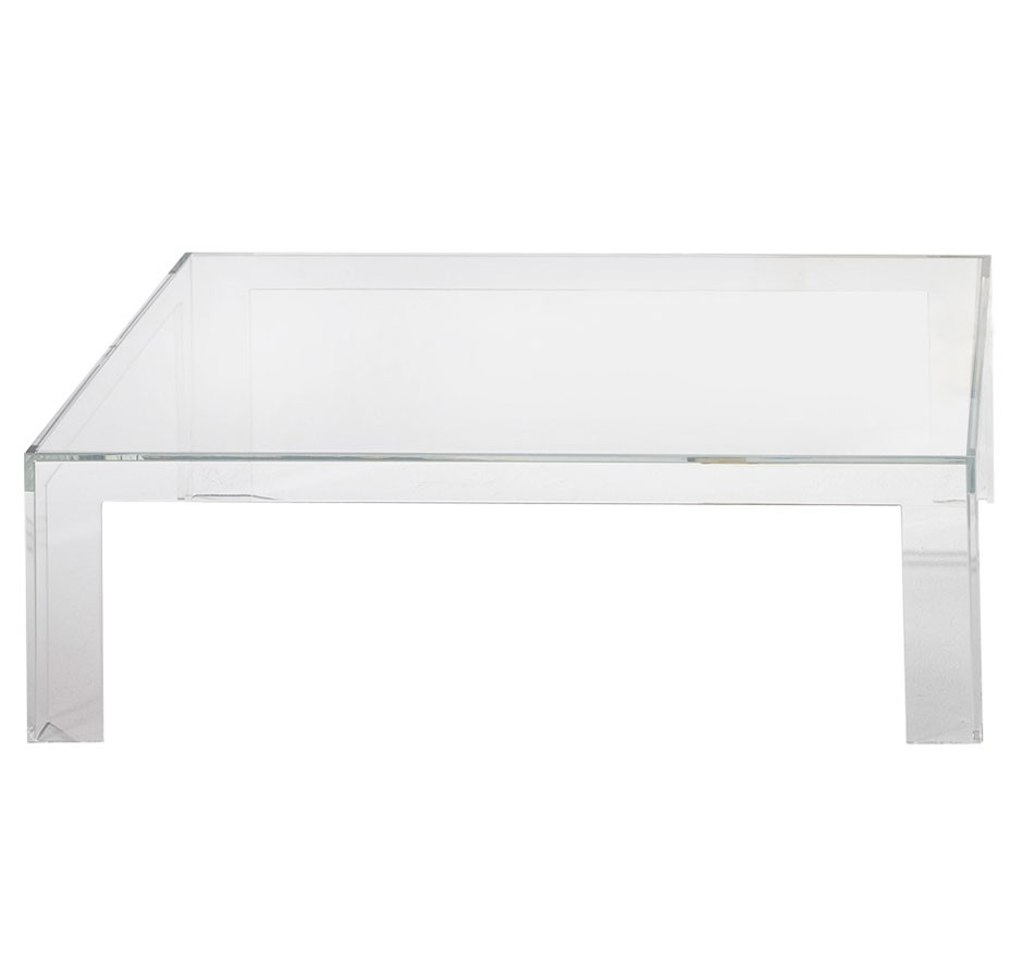 Couchtisch Red Dot Kartell Invisible Table Couchtisch - Traumambiente