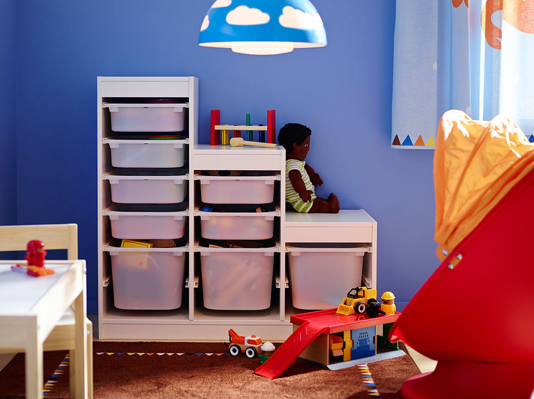 Regal Mit Boxen Kinderzimmer
