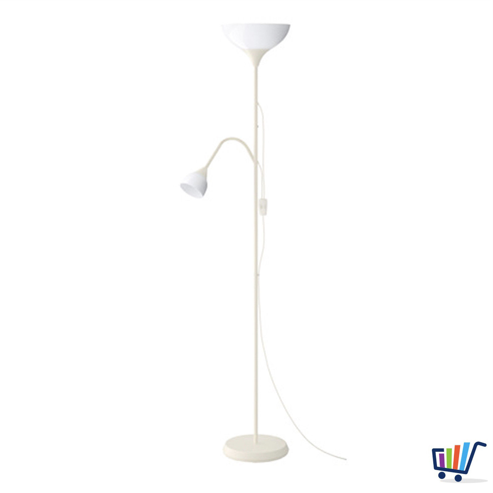 Deckenfluter Mit Leselampe Ikea Strahler Deckenfluter Deckenstrahler Stehleuchte Weiß Stehlampe Leselampe