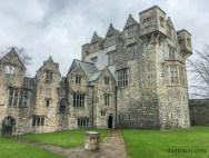 Donegal Castle - courtyard
