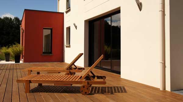 Terrasse en bois sur dalle béton les bonnes pratiques! - Comment Poser Une Terrasse Bois
