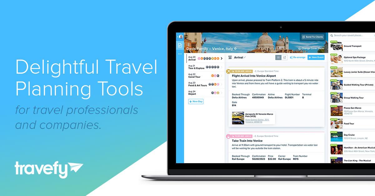 Travel Itinerary Software  Trip Planner Platforms Travefy - trip maker software