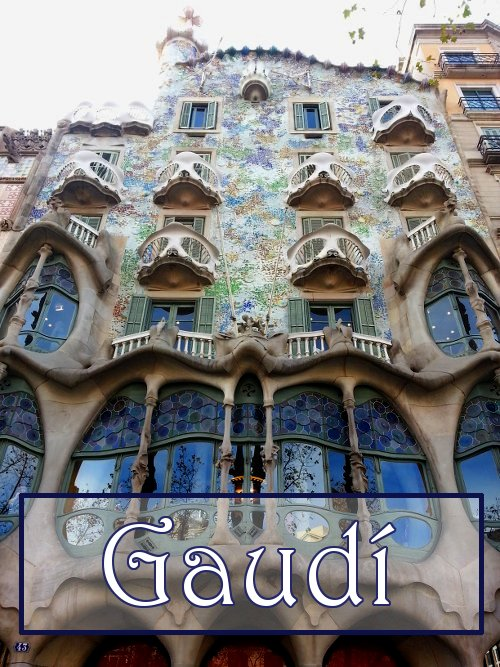 2. Gaudí's work throughout the city is a highlight