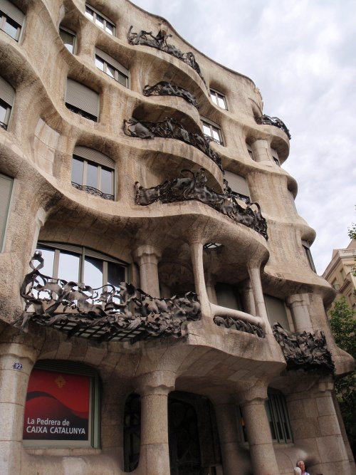 Gaudí's designs are easy to spot