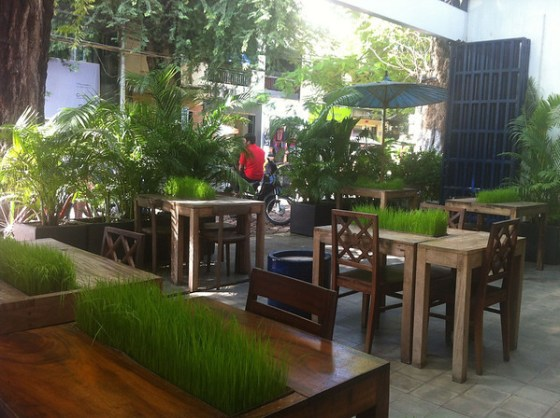 Naturae Restaurant, Street 240, Phnom Penh