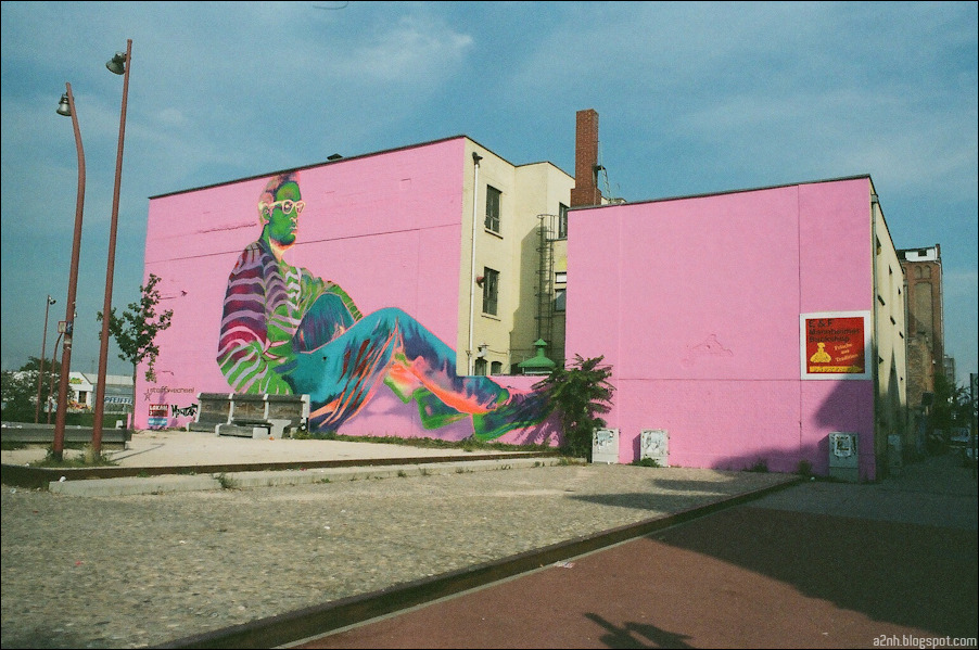 Street art in Mannheim