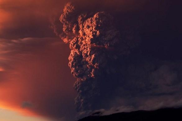 Volcano Calbuco Chile