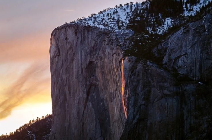 Firefall Landcape Horsetail Fall Yosemite National Park Taylor Gray