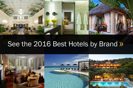 Best Hotels by Brand US News