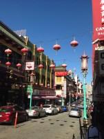 Straßendeko, chinatown, san francisco