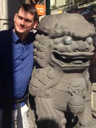 drachentor, eingang chinatown