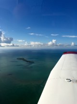 Cockpit, Ausblick, Key West, Florida, Meer, türkis, Himmel, fliegen, selber fliegen, PPL