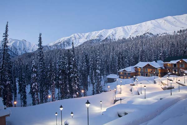 Stay at The Khyber Himalayan Resort & Spa in Gulmarg.