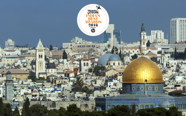 Israel wins the Best Heritage Destination.