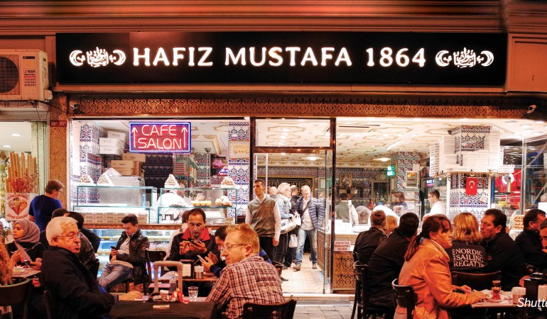 The Fondest Memory of Istanbul: Baklava At Hafiz Mustafa