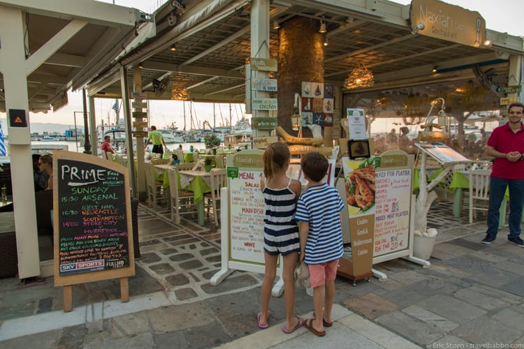 Three Weeks on the Greek Island of Naxos (with Kids) - Travel Babbo - two week notice email
