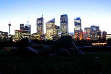 Sydney - Seara în Grădina Botanică