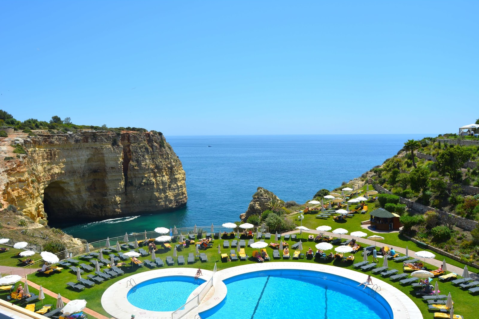 Hotel Tivoli Carvoeiro Algarve Booking A 3 Day Algarve Itinerary As An Indian Female And Solo Traveller