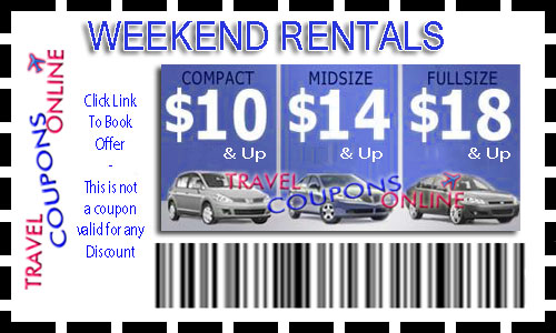 Coupon codes for rental cars